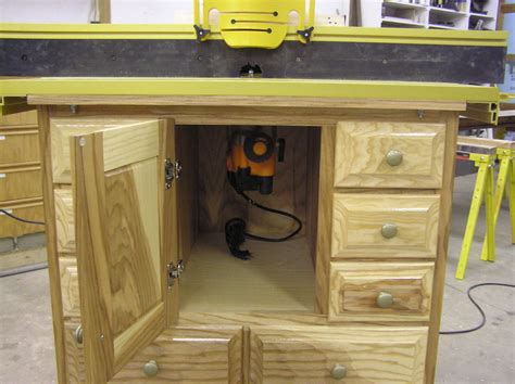 sommerfeld woodworking router cabinet by klipper lumberjocks