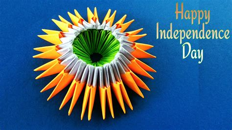 origami special modular origami special quot indian independence day quot