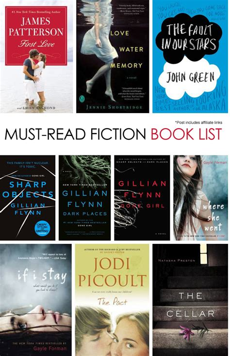 pictures of fiction books 10 must read fiction books
