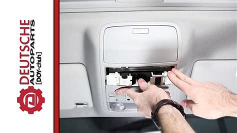 how to remove a fuse from lights how to diy remove or replace mk5 jetta dome light