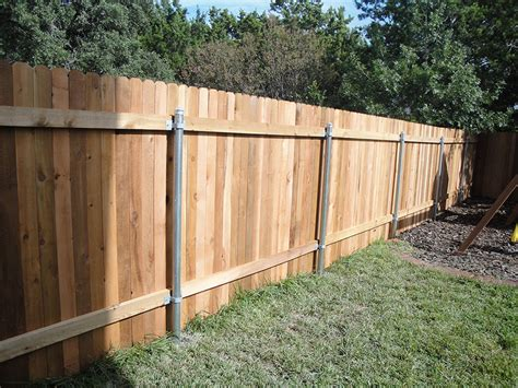 types of fences for backyard types of fences tx ranchers fencing landscaping