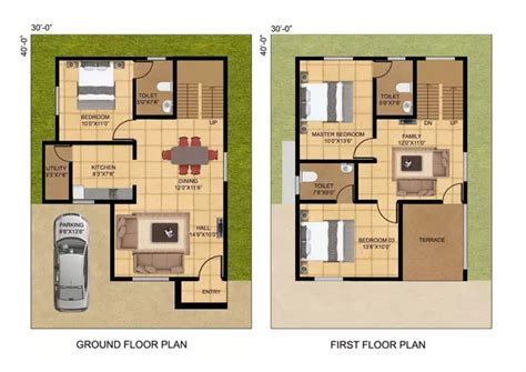 what are the best architects plans for 1200 sq ft land to
