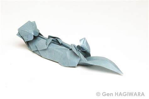 otter origami origami sea otter by h on deviantart