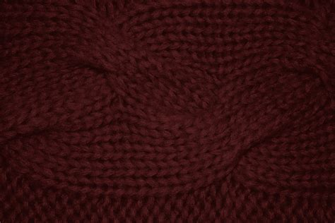 maroon knit maroon cable knit pattern texture picture free