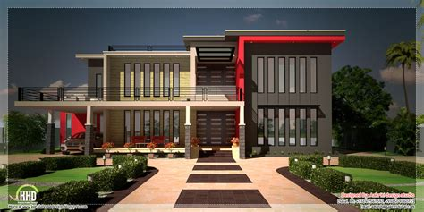 contemporary home plans and designs beautiful contemporary luxury villa with floor plan a
