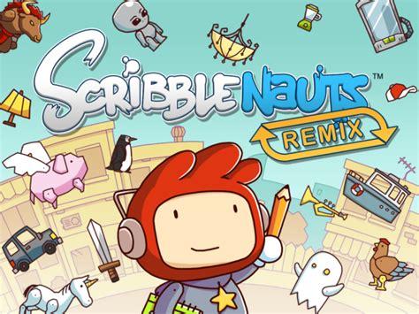 scrabble nauts scribblenauts remix review android rundown where you