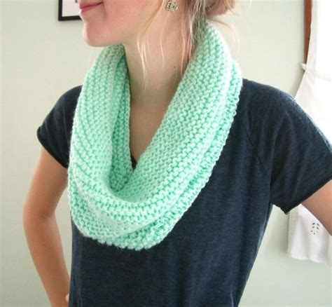 easy infinity scarf knit pattern pin by diane martel on my style