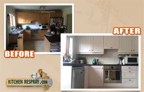 spray paint kitchen cabinets farrow and spray painting kitchen respray