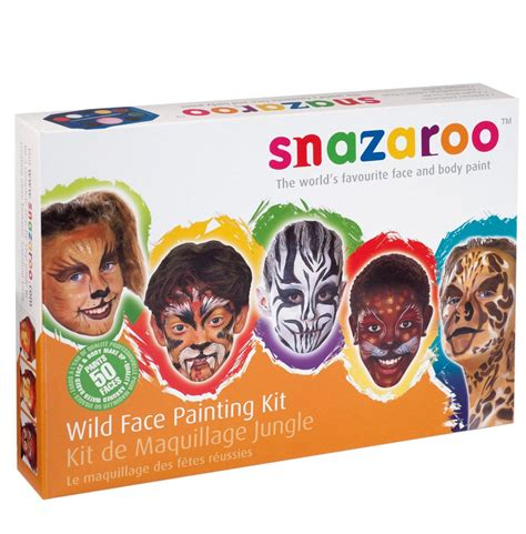 snazaroo paint snazaroo paints faces paint kit