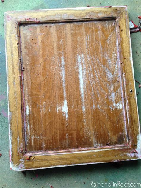 remove paint from woodwork how to furniture and restain it