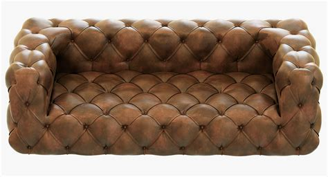 restoration hardware tufted sofa restoration hardware soho tufted leather sofa 3d model max