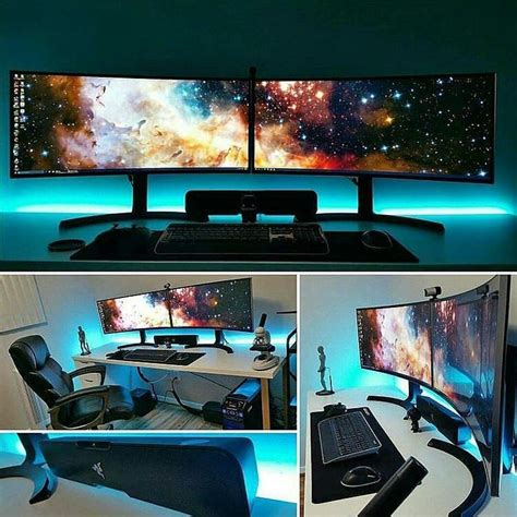 awesome gamer setups 25 best ideas about pc gaming setup on gaming