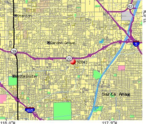 Garden Grove Area Code 92843 Zip Code Garden Grove California Profile Homes