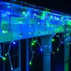 icile lights led lights 70 5mm blue green led icicle lights