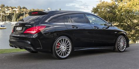Mercedes Of by Mercedes Cla45 Amg Shooting Brake Review Photos