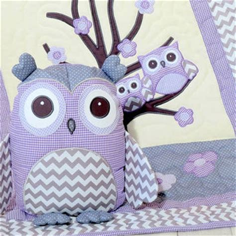 purple owl crib bedding shop purple baby crib bedding on wanelo