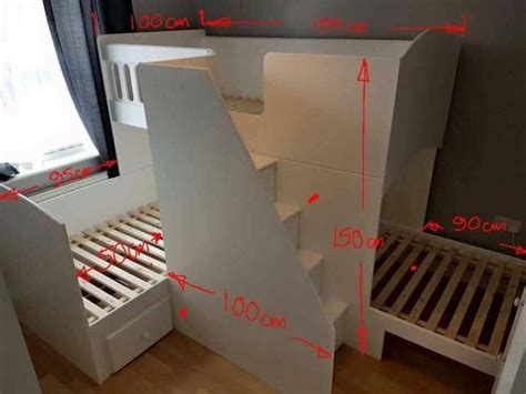 3 bedded bunk beds 25 best ideas about bunk beds on