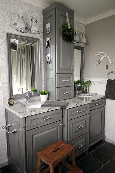 white grey bathroom ideas before and after grey and white traditional bathroom makeover hometalk