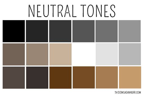 list of neutral colors how to wear neutrals this is meagan kerr