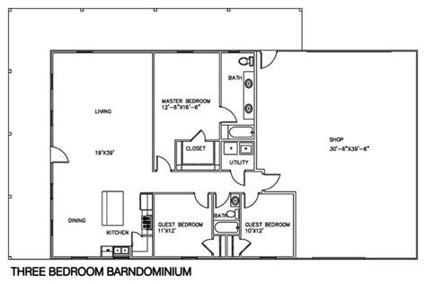 3 floor plan 30 barndominium floor plans for different purpose