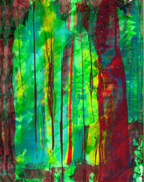 spray paint emerald forest emerald forest painting by lupari