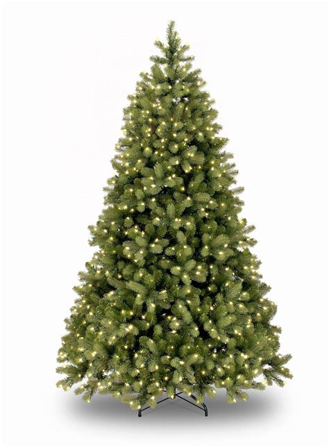 artificial trees 9ft 9ft pre lit bayberry spruce feel real artificial