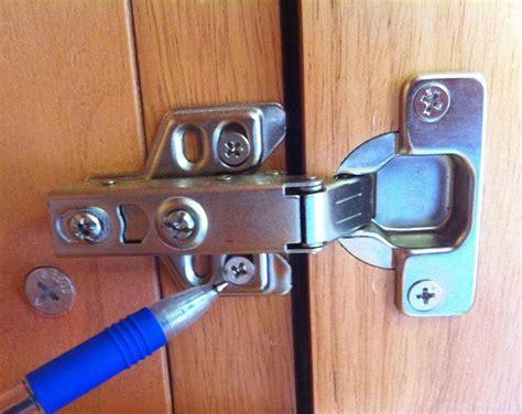 adjust cabinet doors how to adjust the alignment of cabinet doors