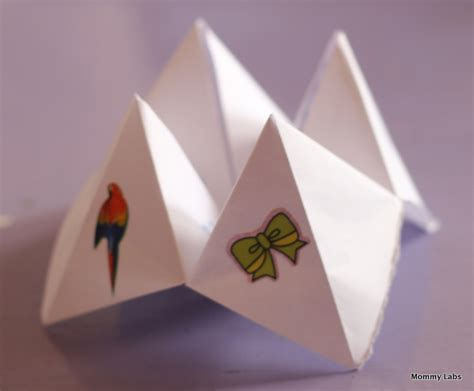 origami crafts for origami fortune teller learning and affirmations