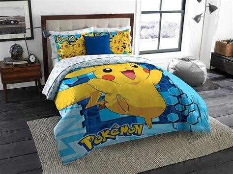 pikachu bed set sheet set images images