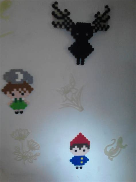 bead wall the garden wall bead sprites by griffonmender on