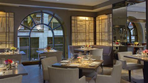 hoteles en new york con cocina los mejores restaurantes de hotel en nueva york the