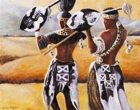 Zulu Groom Painting By Basso