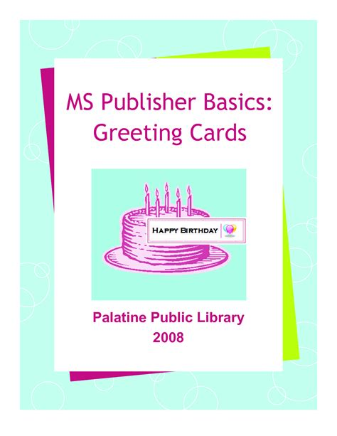 how to make a birthday card on microsoft word birthday card template publisher
