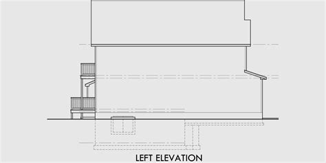 narrow lot house plans with basement narrow lot house plans with basement 10176
