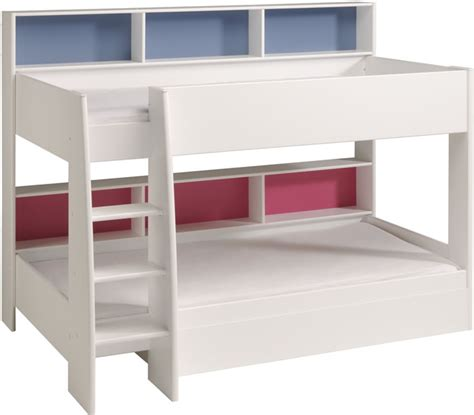parisot bunk beds parisot tam tam white bunk bed with shelves the home and