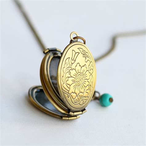 lockets for jewelry locket pendant necklaceantique brass locket necklace with