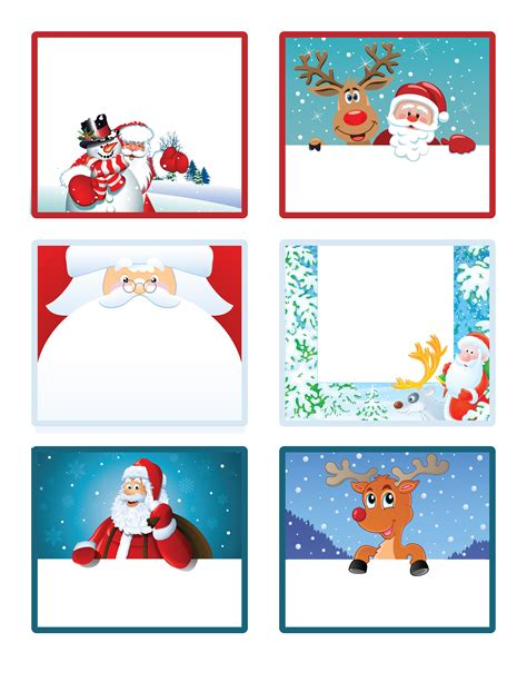 gift labels print free santa s gift to you free printable gift tags and