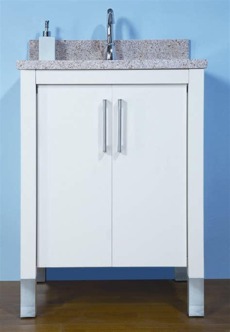 24 bathroom vanity with sink 24 inch single sink modern bathroom vanity with choice of
