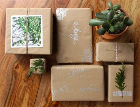 craft paper wrapping ideas gift wrap ideas using brown craft paper simply gifted