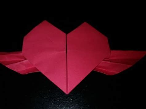 how to make a origami beating origami beating