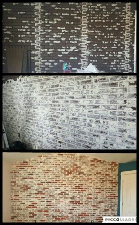 chalk paint joint compound 1000 ideas about brick accent walls on master