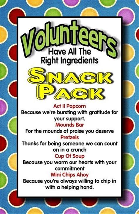 volunteer craft projects volunteer appreciation volunteer appreciation gifts and