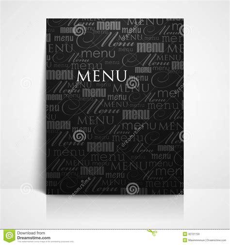 restaurant menu template stock illustration image of