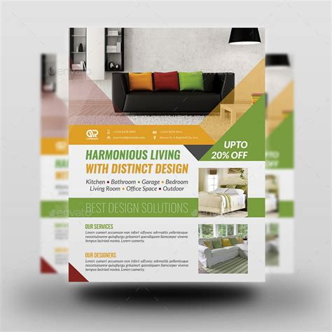 interior design flyers interior design flyer template by owpictures graphicriver