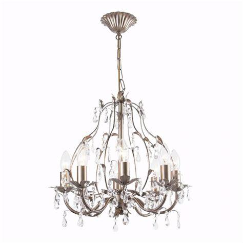 brushed gold chandelier litecraft 8 light brushed gold chandelier ceiling