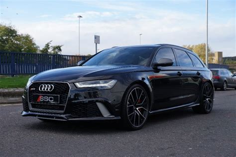 Audi Rs6 Black by Used Black Audi Rs6 Avant For Sale West