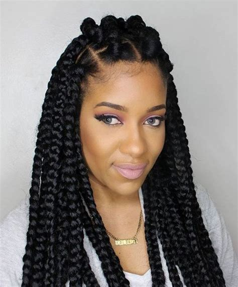 The 25 Best Ideas About Thick Box Braids On