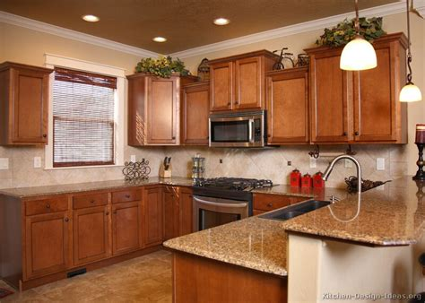 kitchen colors with brown cabinets pictures of kitchens traditional medium wood cabinets