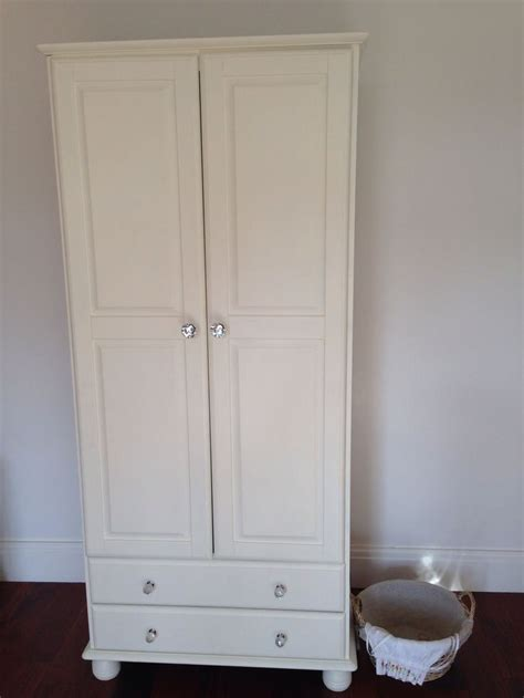 autentico chalk paint antique white wardrobe painted with autentico ivory chalk paint