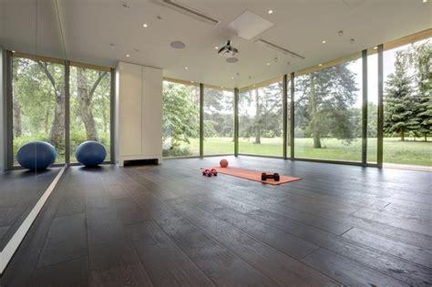 Home Decorative Plants bespoke pilates studio contemporary home gym other